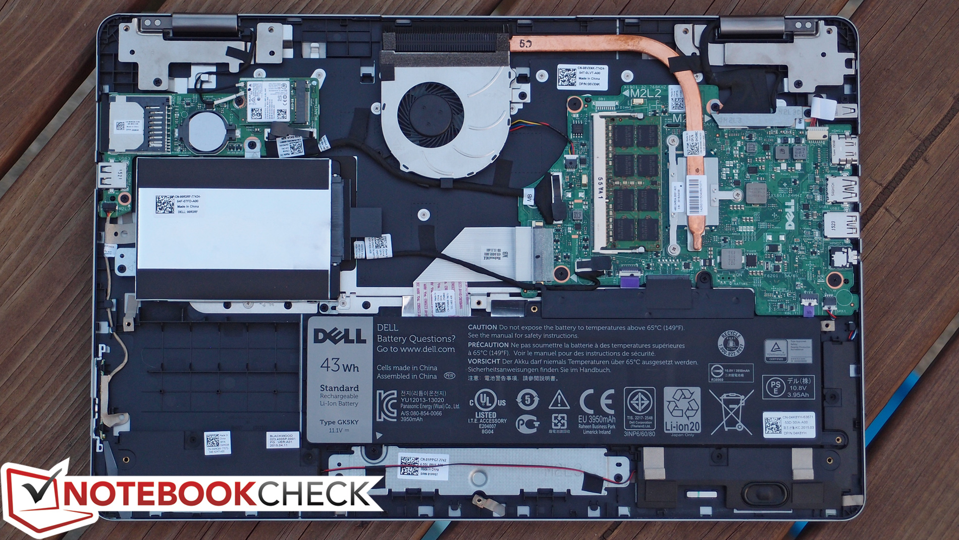 Kort Testrapport Dell Inspiron 15 7558 Convertible