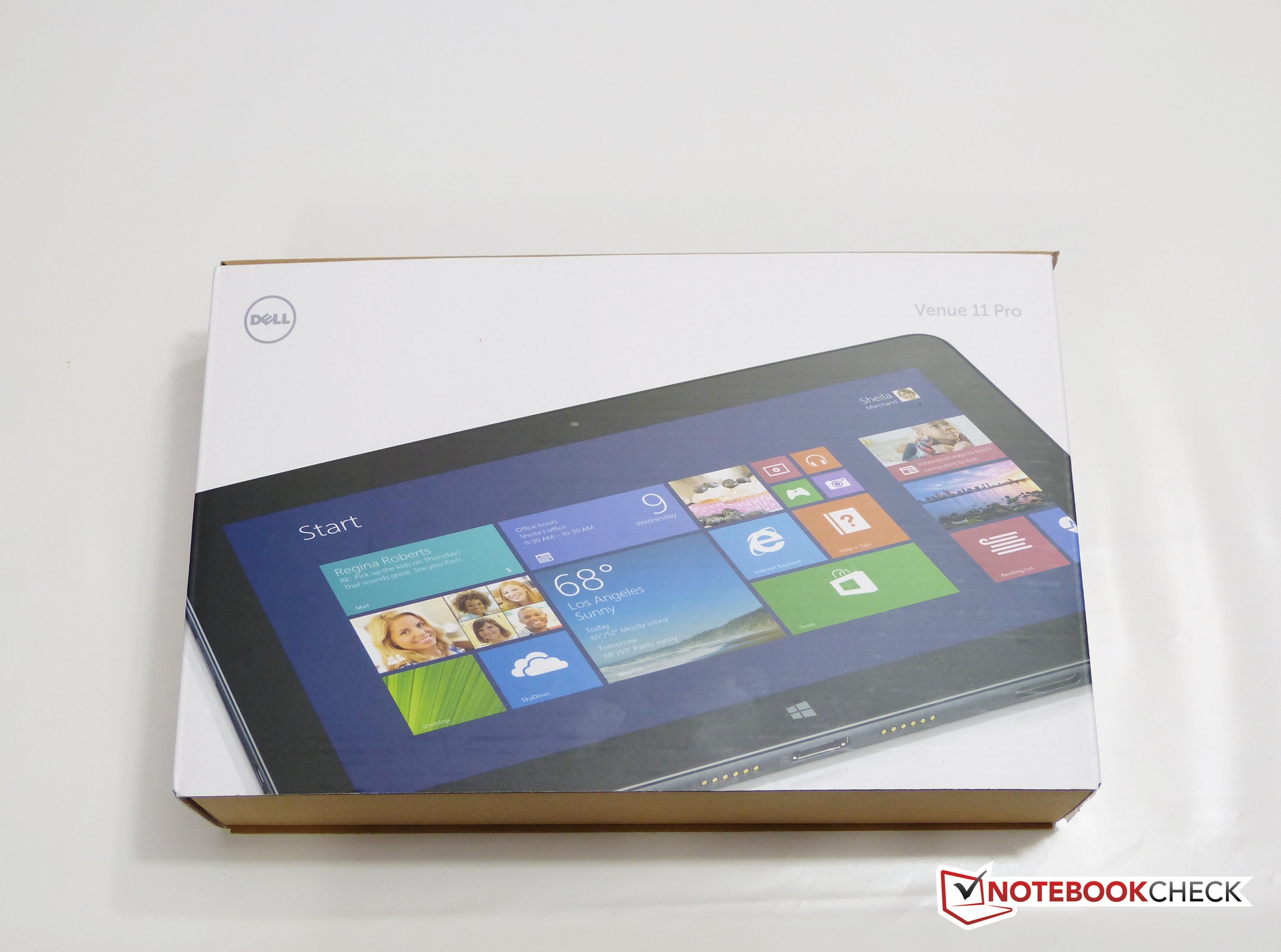 Kort testrapport dell venue 11 pro 5130 9356 tablet notebookcheck.nl