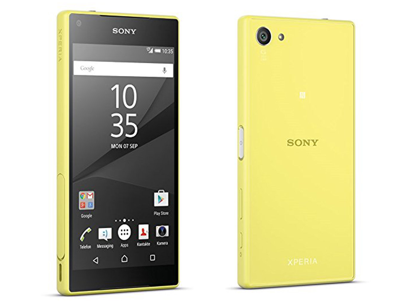 kort testrapport sony xperia z5 compact smartphone. Black Bedroom Furniture Sets. Home Design Ideas