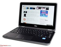 De Dell Latitude 3189: testmodel geleverd door Dell Germany.