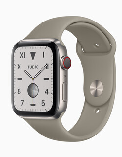 Getest: de Apple Watch Series 5 smartwatch. Testtoestel voorzien door Apple.