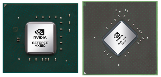 NVIDIA GeForce MX150 en de NVIDIA GeForce 940MX