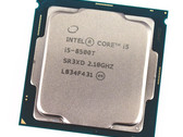 Kort testrapport Intel Core i5-8500T (6 cores, 6 Threads, 2.1 GHz, 35 W) Desktop CPU