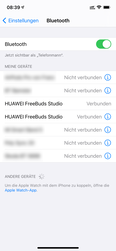 iOS - Bluetooth Apparaatbeheer