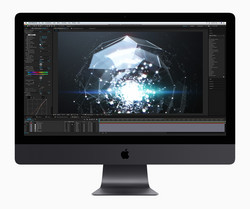 Getest: Apple iMac Pro. Testmodel geleverd door Notebooksbilliger.