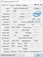 GPU-Z: Intel UHD Graphics 630