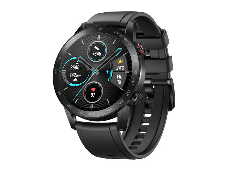 Honor Magic Watch 2 in 46 mm (1.8 inch) met Bluetooth-telefonie en kleuraccent