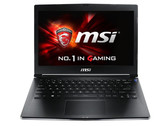 Kort testrapport MSI GS30 Notebook