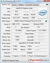 Systeeminformatie GPUZ Intel