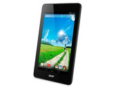 Kort testrapport Acer Iconia One 7 B1-730 Tablet