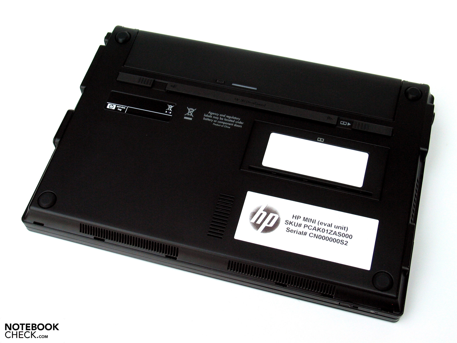 Testrapport hp mini 5101 netbook - Kleine lay outs het oppervlak ...