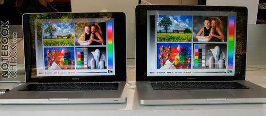 Kijkhoeken van de MacBook vs. MacBook Air