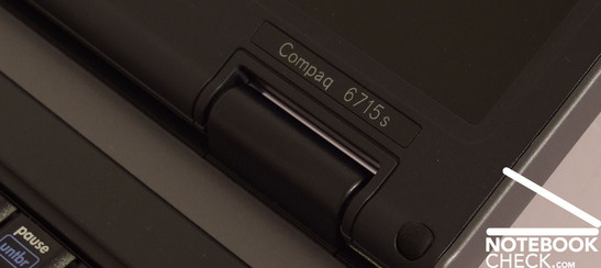 Review HP Compaq 6715s Logo