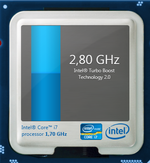 2.8 GHz maximum Turbo kloksnelheid